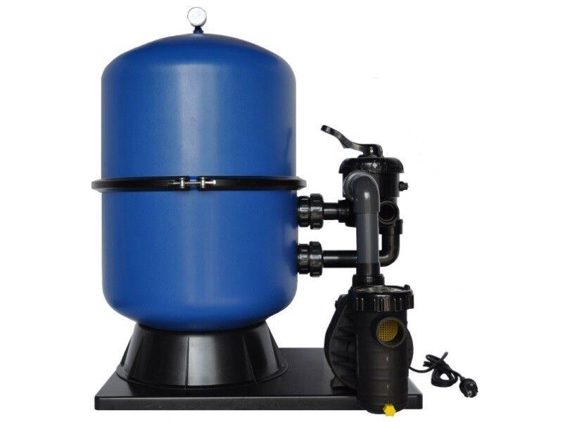Sandfilteranlage OKU Pacific Ø 500 mm mit Aqua Plus 8 230 Volt Pumpe