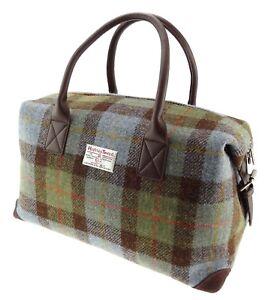 c9a6cc533259 Authentic Harris Tweed Holdall Unisex Bag LB1006 COL15 7425750733528 ...