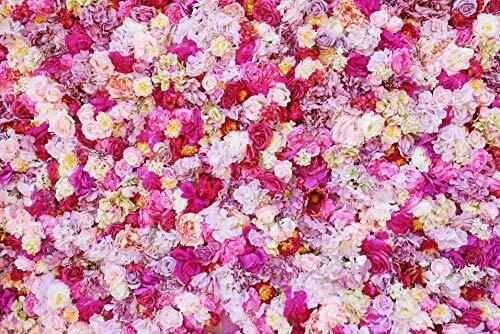Telón de fondo de Pared Flor Daniu 7x5ft fotografía Floral colorida Rosas Flor De Mar