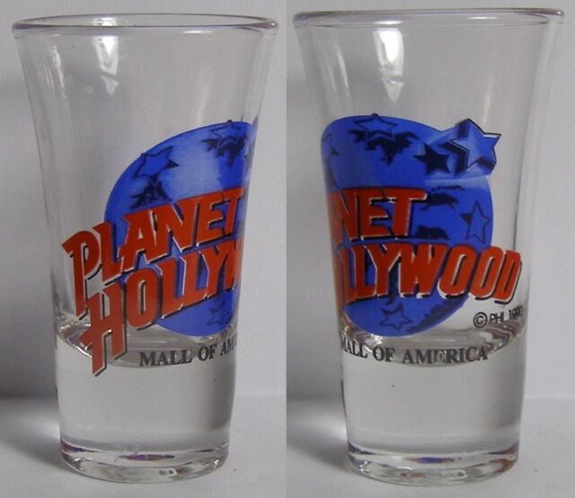 Planet Hollywood Mall Of America Shot Glass #4359
