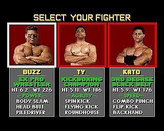 Pit Fighter, Amiga 500