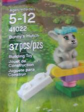 New Lego Friends Bunny s Hutch 41022  Pet rabbit  series 2 No longer sold