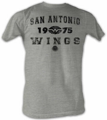 Shirts Honest San Antonio Wings Wfl 1975 Logo Men's Lightweight Tee Shirt Sizes S-5xl 2019 Official