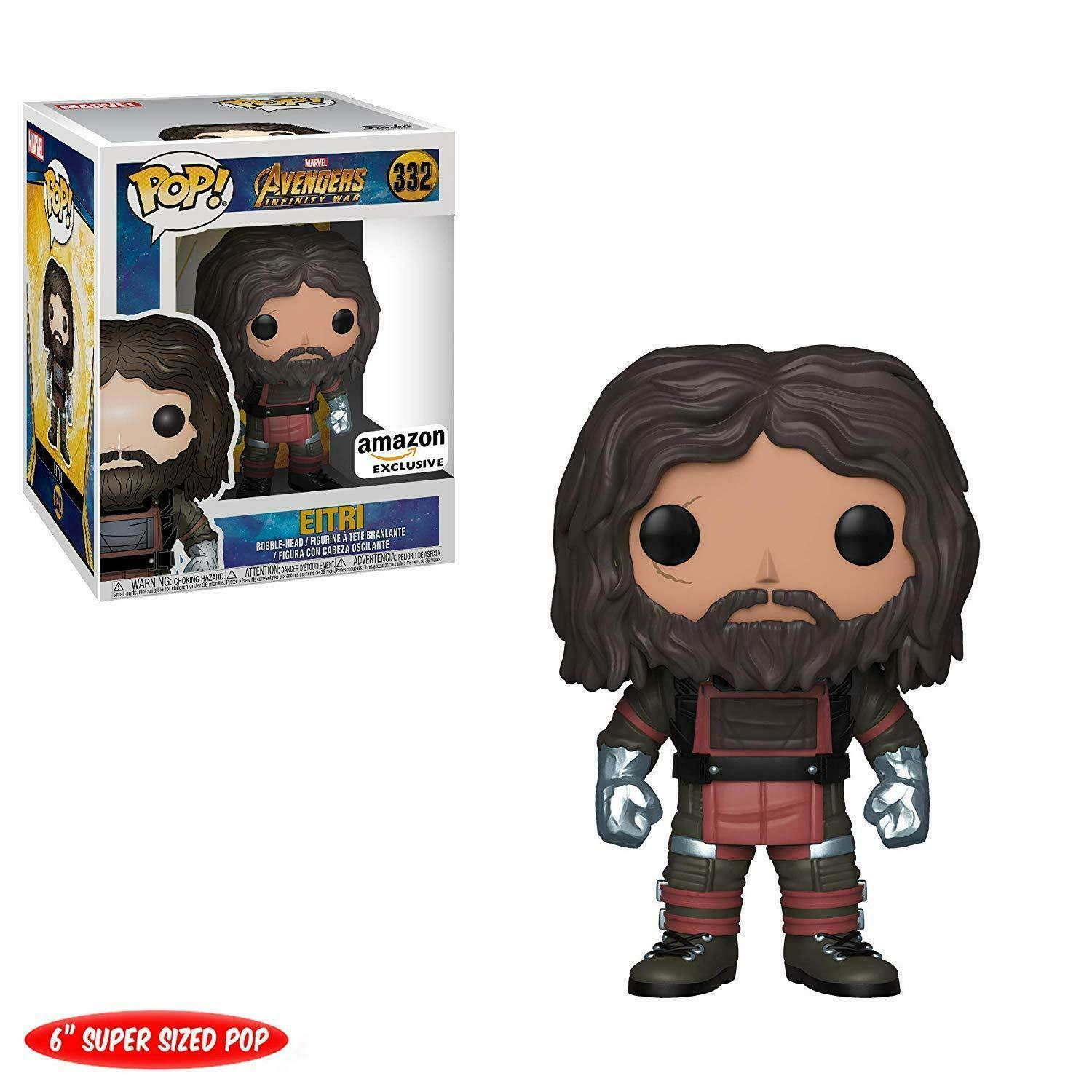Funko POP  Avengers Infinity War 332 EITRI 6  Super Größed Amazon Exclusive