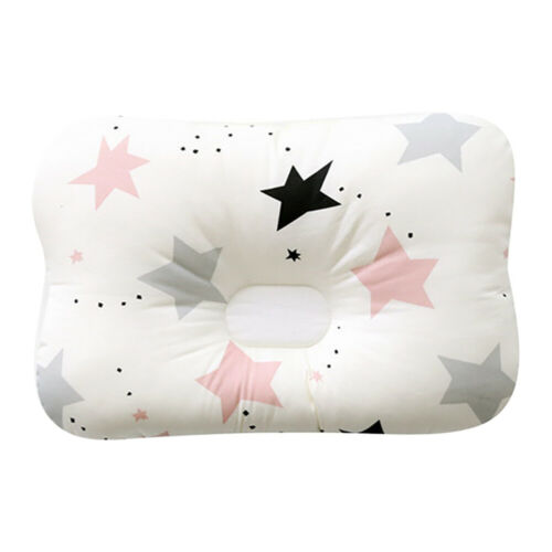 Baby Infant Pillow Newborn Anti Flat Head Syndrome for Crib Cot Bed Neck-Support