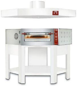 35 Cm Pizzen Digital Gastlando Elektro Eck Pizzaofen Flammkuchenofen Für 8 X Ø
