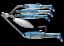 Live-Target-baitball-Spinner-Rig-Umbrella-Rig-Bass-Fishing-Alabama-Rig-8-Couleurs miniature 3