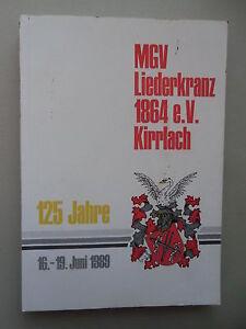 MGV-Liederkranz-1864-e-V-Kirrlach-125-Jahre-1989-Vereinsgeschichte