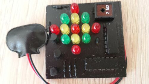 kleine LICHT EFFEKT MODULE 7-12V Betrieb Deko oder Geschenk 5 verschiedene