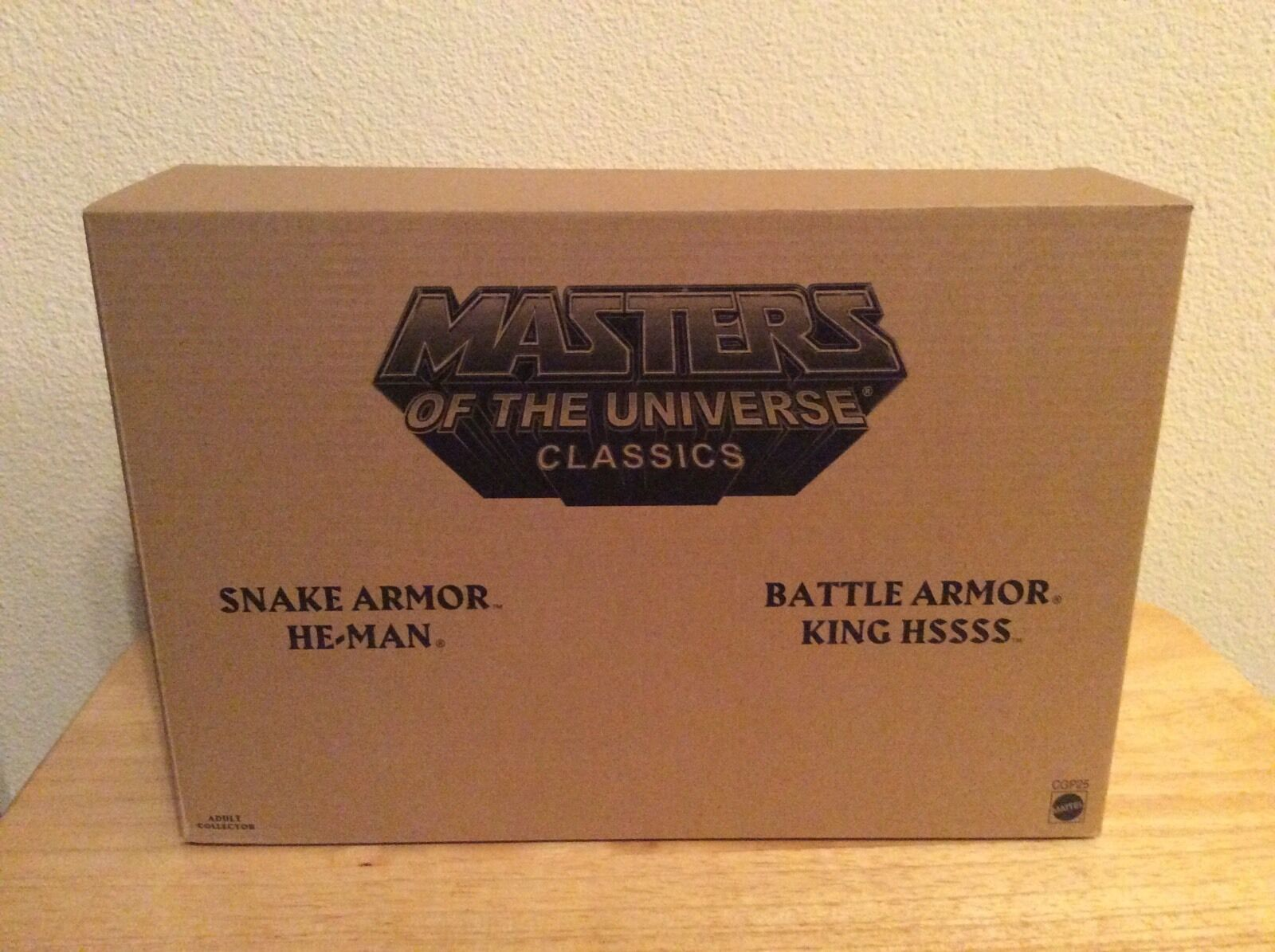 Motuc Snake Armor He-Man Battle Armor King Hsss Figure Masters Of The Universe