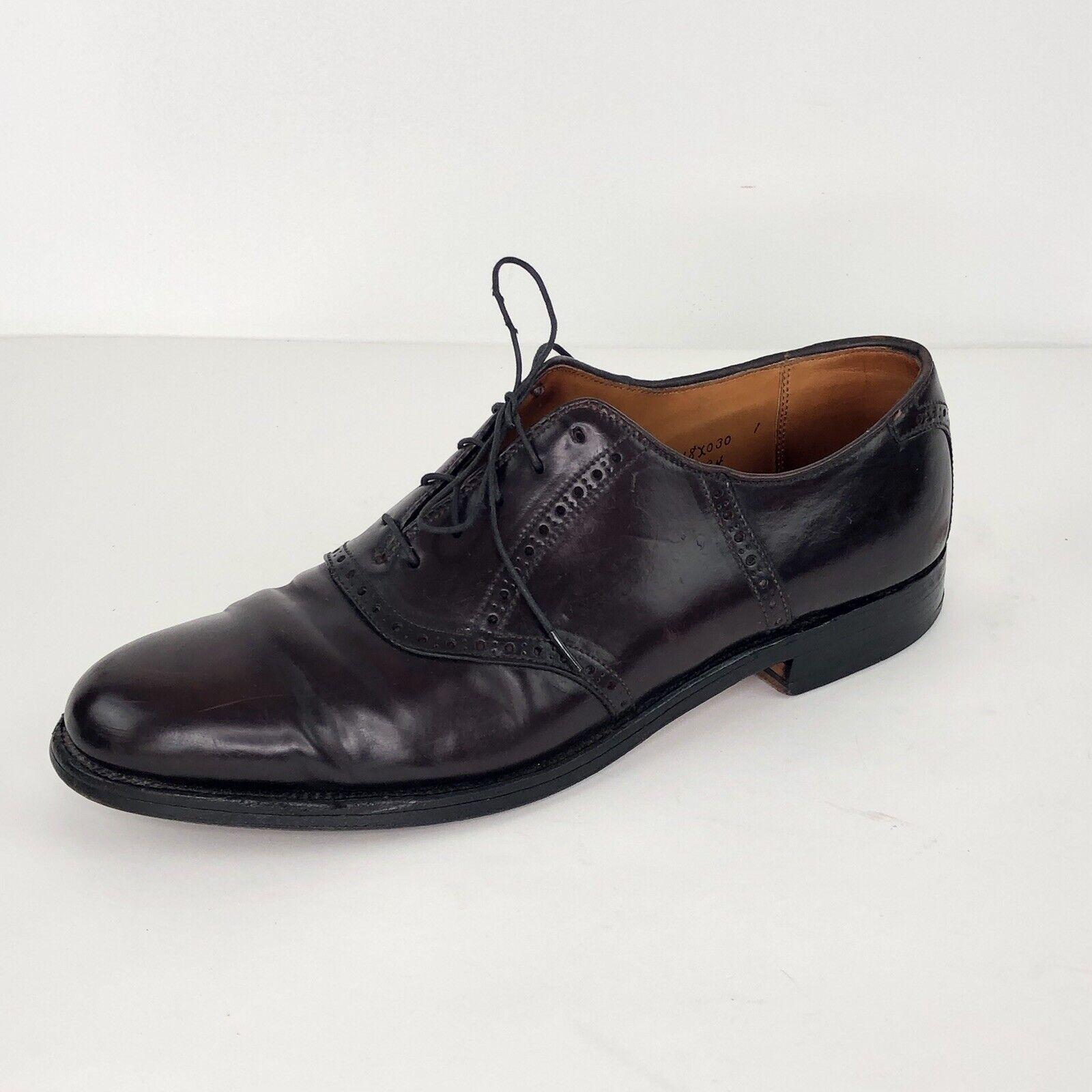 Zapatos De Vestir Alden 994 Shell cordobesa Borgoña Marrón Oxford silla   Hombres 11 AAA