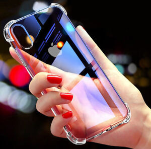 For-iPhone-Case-8-7-6-Plus-XS-Max-XR-Bumper-Shockproof-Silicone-Protective-Cover