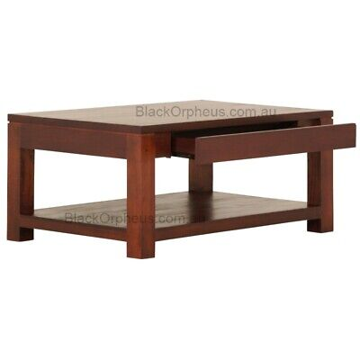Coffee Table Small Timber Coffee Table With 2 Hidden Drawers