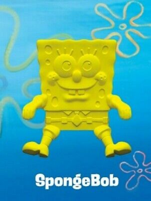 Sponge Bob Squarepants Movie Kellogg's Cereal BOWL BUDDY Patrick Sandy Toy Set
