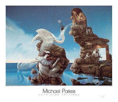 Michael Parkes Gargoyles  Fantasy Weird Odd Magical Print Poster  31.5x27.5