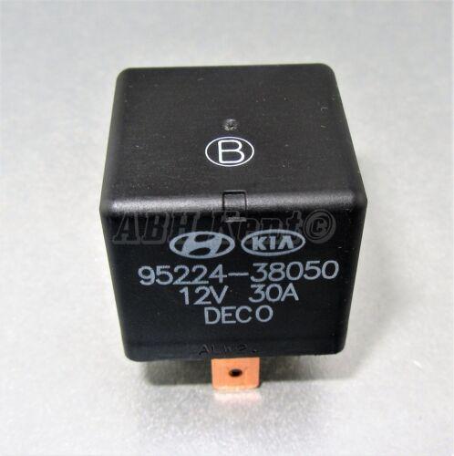 2000-2016 252-Hyundai Multi-Use 4-Pin Black Relay DECO 95224-38050 DC12V 30A