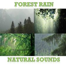 Rainfall With Music CD Natural Sounds Rain Meditation