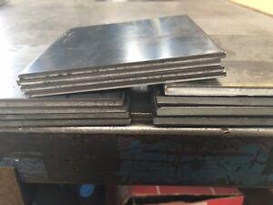 """1//4/"""" Steel Plate 1//4/"""" x 12/"""" x 16/"""" A36 Steel"""