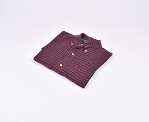 Ralph-Lauren-120-S-2-ply-Multicolor-Hombre-Camisa-Talla-S-Genuino