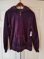 Sb Active Jc Penney Windsor Purple Ladies Size Large Hooded Jacket (new)