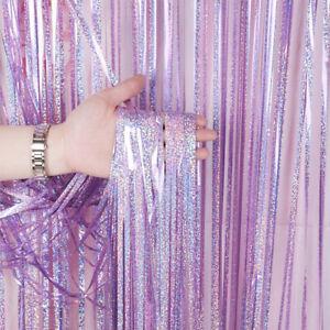 Decorative-Garland-Photography-Background-Foil-Curtains-Laser-Backdrop