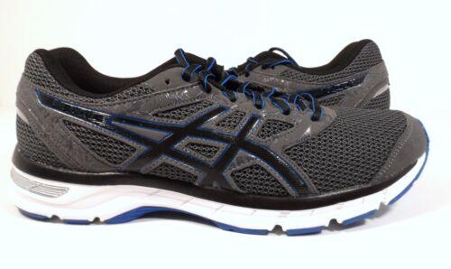 Asics Taille Course Carbone excite Electrique noir Chaussures Gel bleu 4 Homme ranrBA