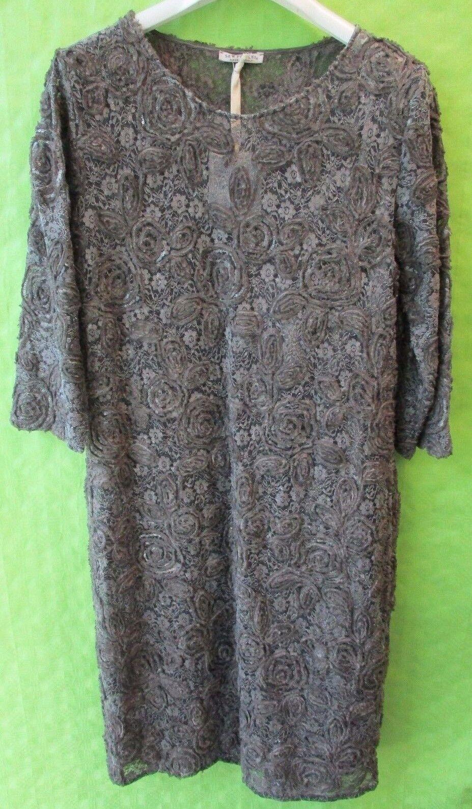 Kleid Kleid Kleid von SEM PER LEI Gr 42 Boutiqueware zum Outlet-Preis  NP 399,- 486239