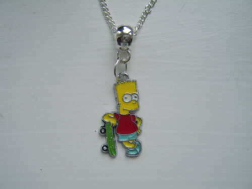 Bart Or Homer Simpson Necklace  Must See