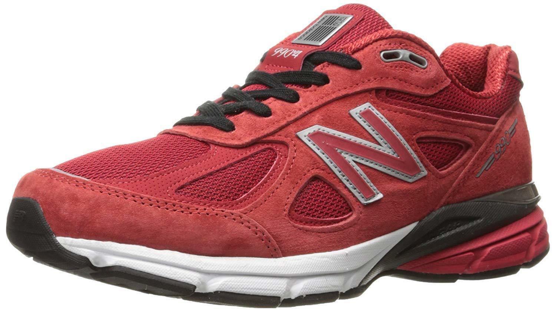 Medio 990V4 D NEW BALANCE Rojo Negro M990RD4 D para hombre ALPHA tamaños de EE. UU. nuevo