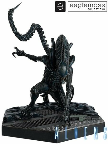 Eaglemoss Aliens Mega Xenomorph Warrior 17 Escala Estatua NUEVO