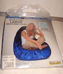 Image Is Loading Bean Bag Factory Blue Flame Large
