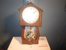 Lucky Ranger novelty clock cowboy on spring pendulum