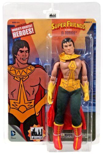 DC World/'s Greatest Heroes Super Friends Series 2 El Dorado Retro Action Figure