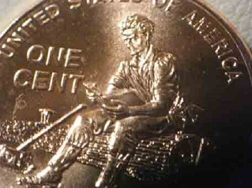 2009 P Lincoln Formative Doubled Thumb Doubled Die Error FY WDDR-059
