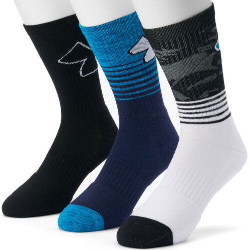 Boys 3 Pack Crew Socks-NWT