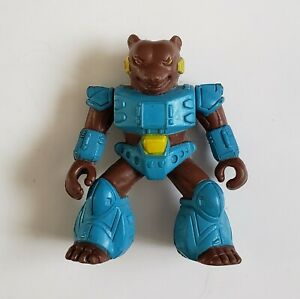 Battle Beasts #11 Grizzly Bear With Weapon Hasbro Takara