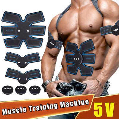 Smart ABS Stimulator Training Fitness Gear Muscle Abdominal Toning Belt Trainer