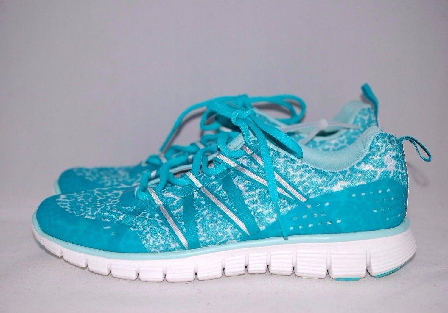 ZELLA Mint Vivid Damens's Leopard Blau Dash Runnin Damens's Vivid Sneaker Schuhes 8 US / 39 EU 272dff