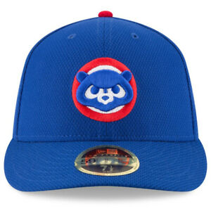 New Era 59Fifty Fitted Chicago Cubs  Cap Hat  Blue with Cub logo NWT