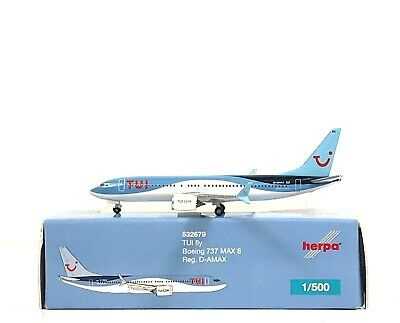 Herpa Wings 1:500 532679 TUIfly Alemania boeing 737 Max 8