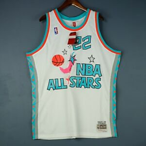 6ac398ca256 100% Authentic Clyde Drexler Mitchell Ness All Star Swingman Jersey ...