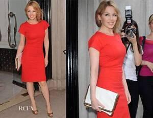 Stella-McCartney-Kylie-minogue-Red-Cocktail-Dress-UK8-US4-IT42-New-Perfect-Gift