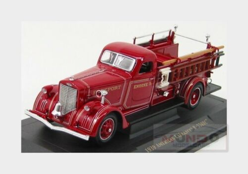 American Lafrance B-550Rc Fire Engine Truck 1939 Red LUCKY DIECAST 1:43 LDC43007