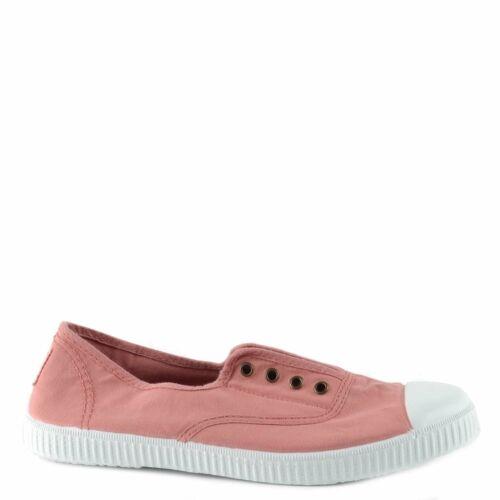 Victoria Shoes Dora Nude Canvas Plimsoll