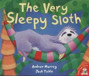 NEW-The-Very-Sleepy-Sloth-By-Andrew-Murray-Paperback-Free-Shipping