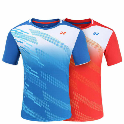 2019 New Quick-drying Polyester badminton Tops tennis Clothing men/'s Tee shirt