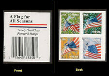 US 4799a Flag for All Seasons forever header block set AVR from BK20 MNH 2013