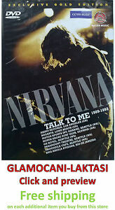 DVD-NIRVANA-TALK-TO-ME-1989-1993-exclusive-gold-edition-2007-kurt-cobain-grohl