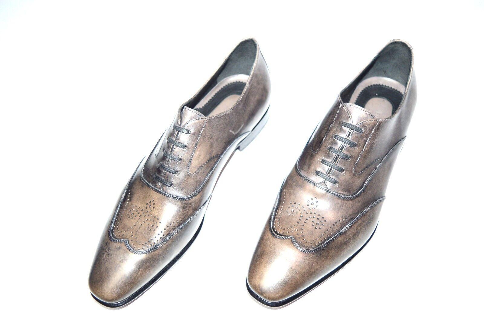 Nuevo STEFANO RICCI Zapatos Talla nos 10 (COD Q33)