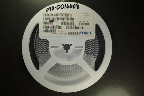 Lot of 15 C0805C475K3PACTU Kemet Capacitor 4.7uF 25V 0805 C0805C475K3PAC7800 NOS